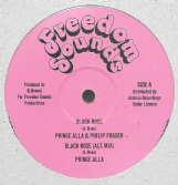 "Prince Alla & Philip Fraser - Black Rose (Freedom Sounds / Archive) 12"" COLOURED VINYL"